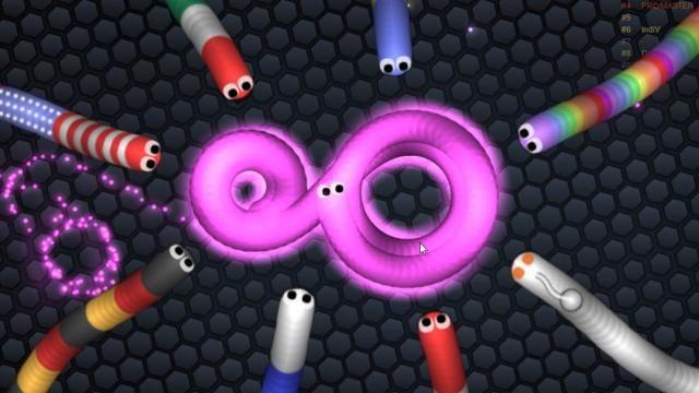 Slither Io 100 Bin Dolar Kazaniyor Slitherio Game Slitherio Games Images