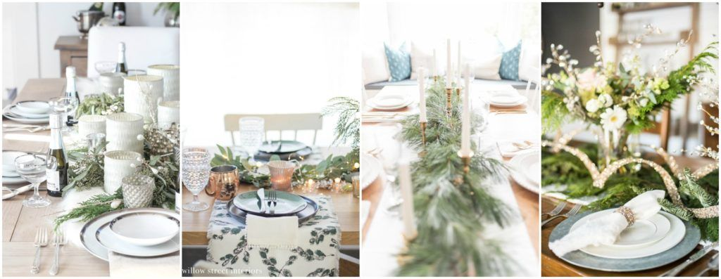 New Year's Eve Tablescape Ella Claire Wedding colors