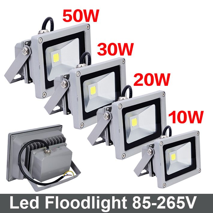10w 20w 30w 50w Led Flood Light Ip65 Waterproof Floodlight Outdoor Lamp 220v 110v Wall Light Refletor Led Foco Exterior Af Outdoor Lamp Flood Lights Led Flood