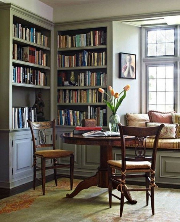 Home Librarydesign Ideas: 44+ ATTRACTIVE HOME LIBRARIES PERFECT BOOK COLLECTION