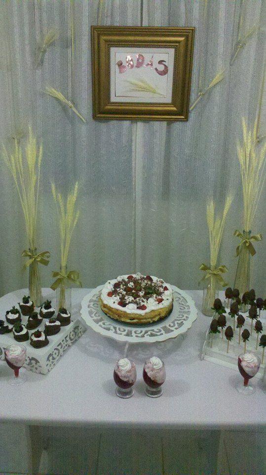 Decoracao Bodas De Trigo Aniversario De Casamento Decoracao Bodas