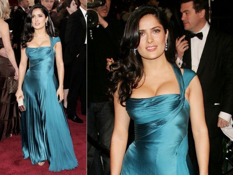 Salma Oscar night 2006 | Glamour girlz | Pinterest