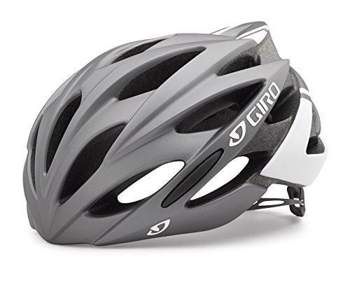 Giro Savant Road Bike Helmet Matte Titanium White Medium
