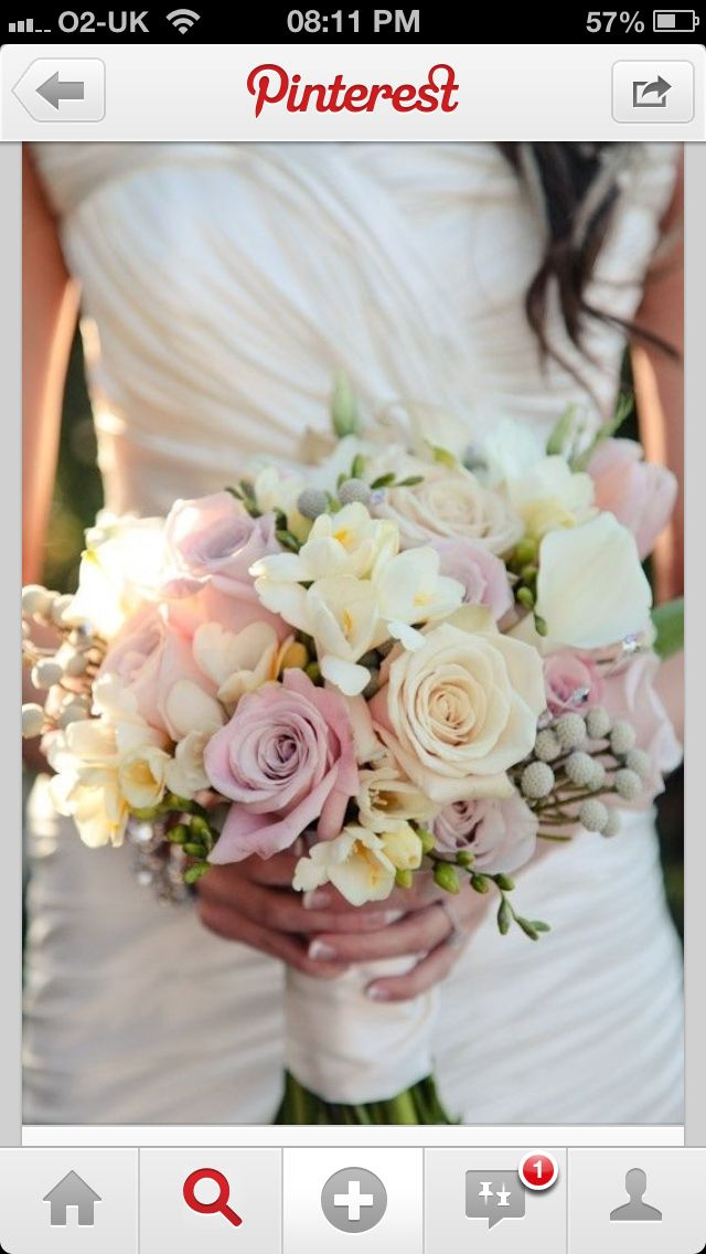 Bridesmaids bouquets. I love making the soft pallet colors bouquets. They inspire me.