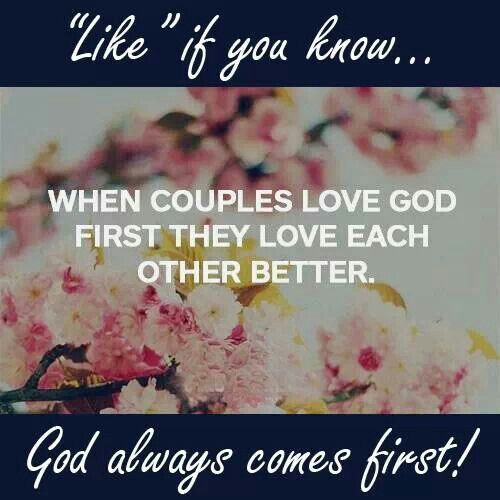Putting god first in a dating relationship