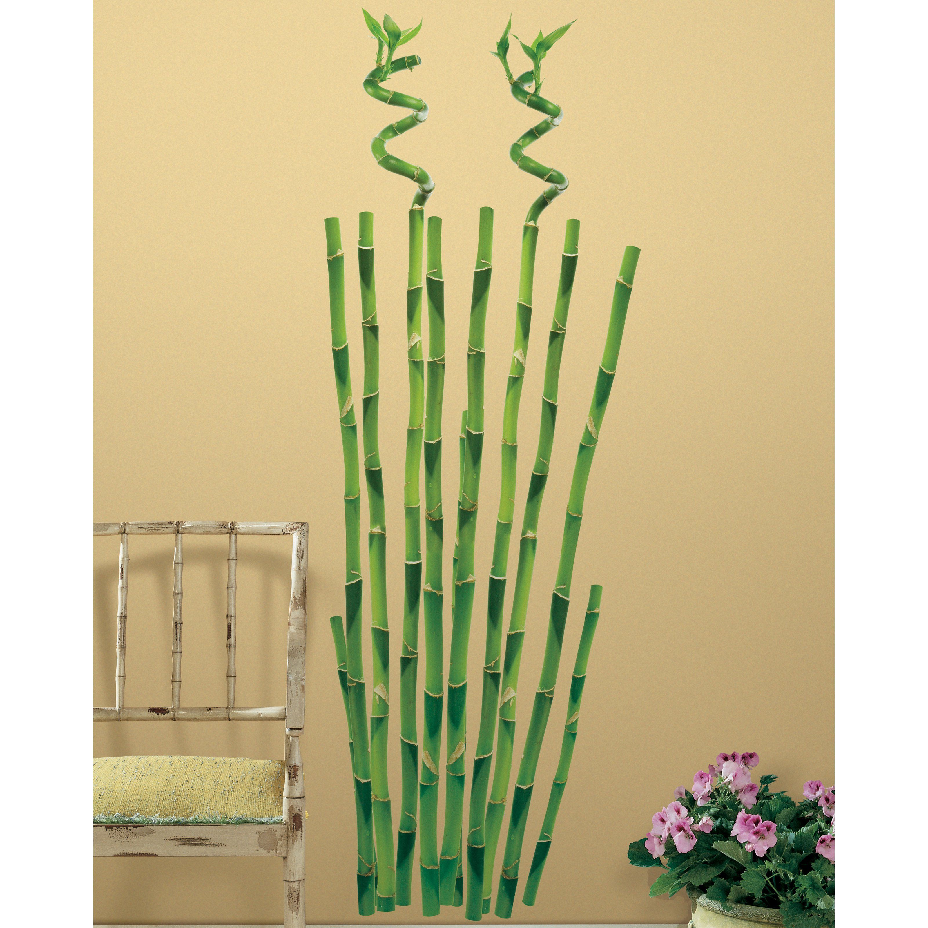 Bamboo Peel and Stick Wall Decals - RMK1166GM | Products | Pinterest ...