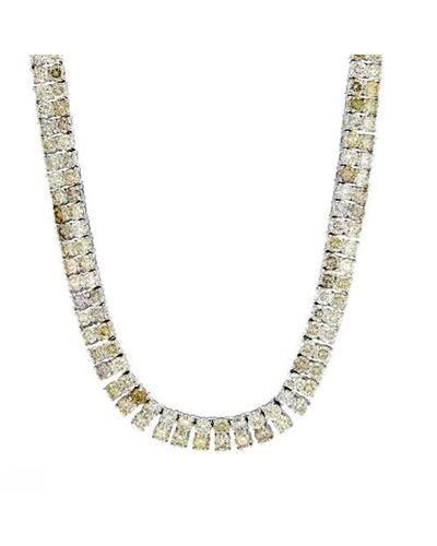 Product Name 16.04 CTW Diamonds Ladies Necklace Designed In 18K White Gold at Modnique.com