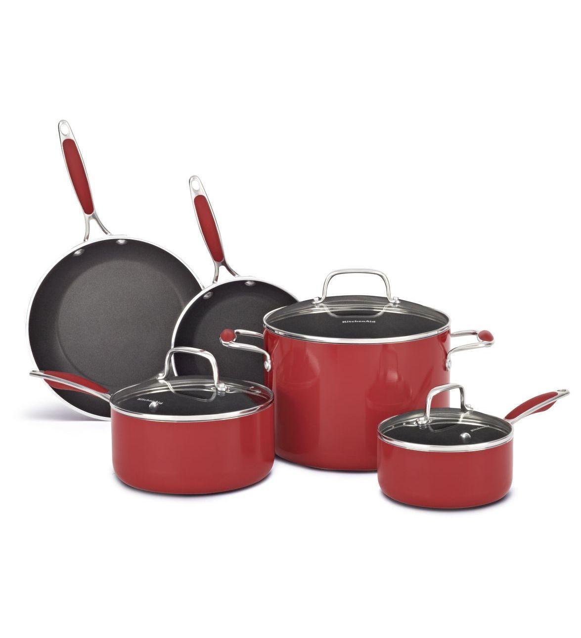 Kitchenaid aluminum nonstick 8piece set kcas08er