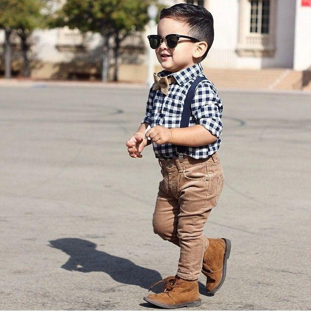 f199e18fb 25 Adorables niños mini-fashionistas que tienen un gran estilo y ...