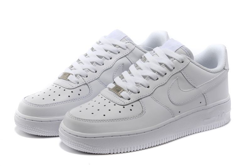 hot sales cec7e 8f8f2 Nike Air Force 1 Schoenen Dames Alle Wit