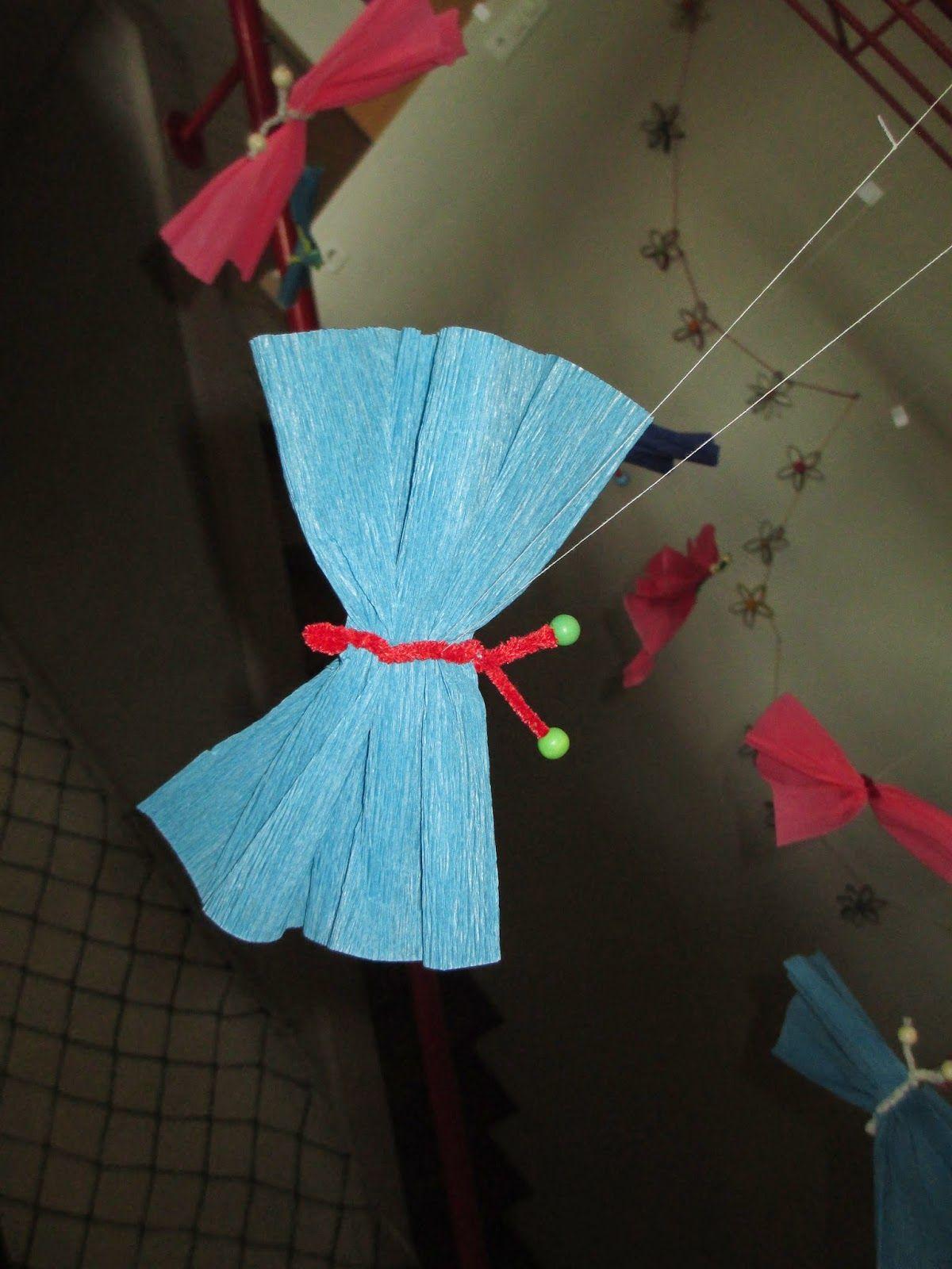 Schmetterling basteln mit Kindern | basteln | Kindergarten ...