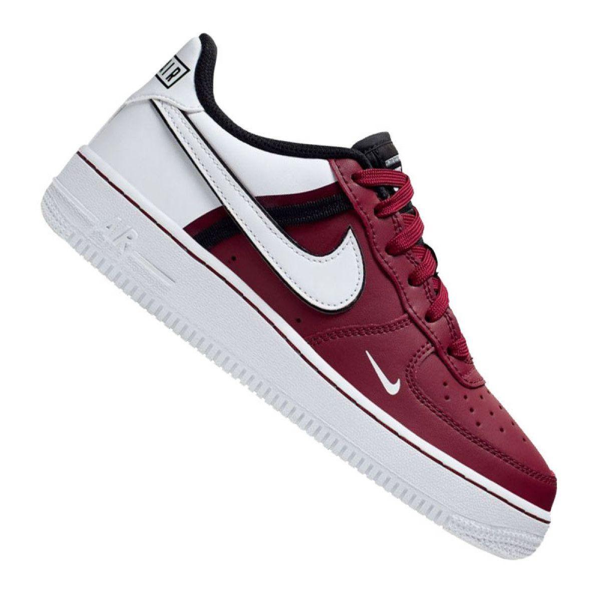 Sportowe Damskie Nike Buty Nike Air Force 1 Lv8 2 Jr Ci1756 600 Zapatos Nike Mujer Tenis Calzado Zapatos