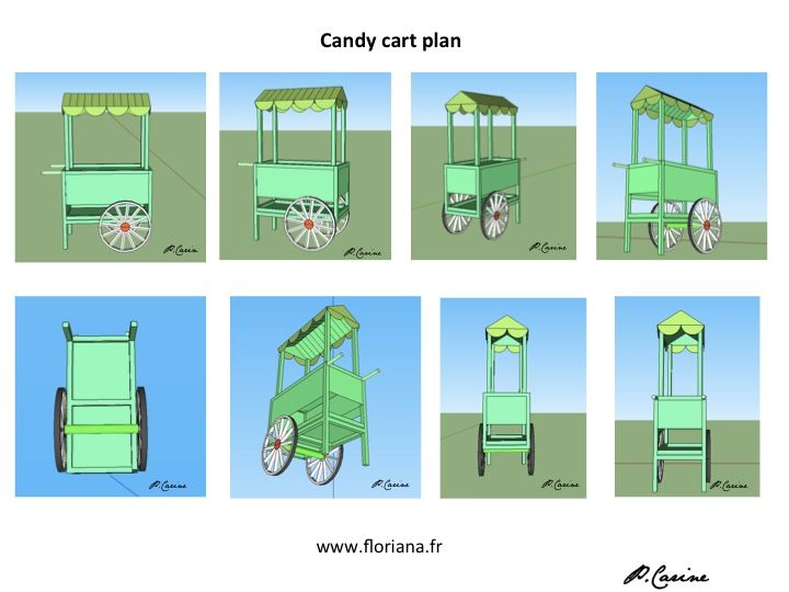 Candy Cart Plans Buscar Con Google