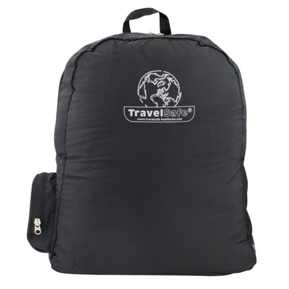 TravelSafe rugzak opvouwbaar 36 x 42 cm polyester zwart met ean 8712318033794is verkrijgbaar bij Blokker. Voor andere artikelen gaat u naar één van onze winkels of Blokker.nl.