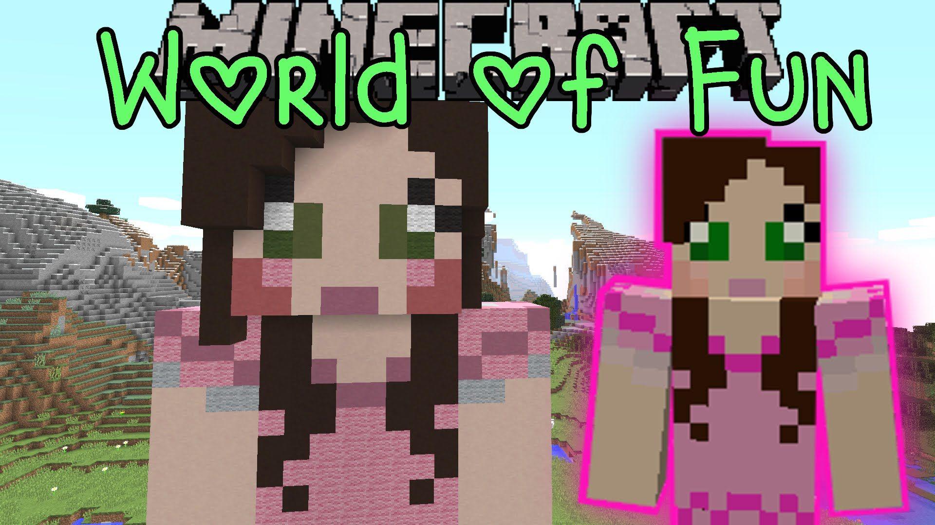 Minecraft World Of Fun Custom Map Part 1 Pat And Jen