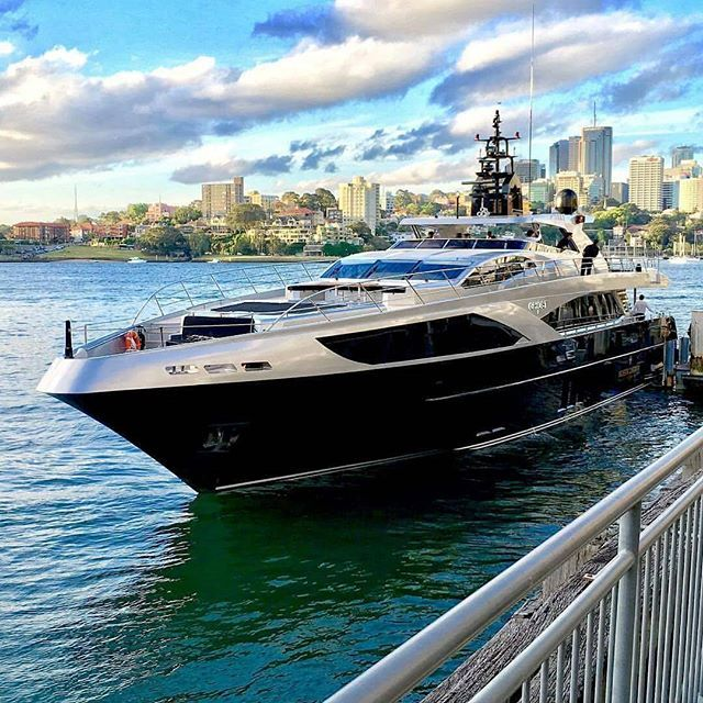 Has Anyone Spotted The Superyacht Majesty 122 (M/Y Ghost II) In Sydney