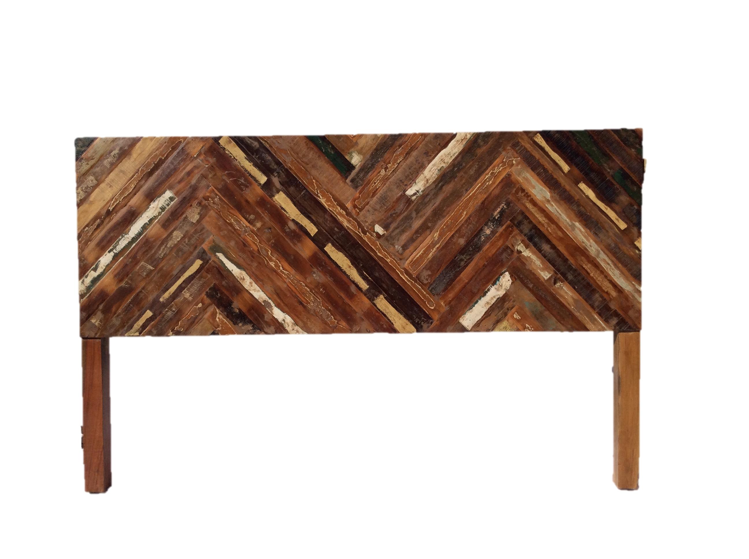 Rustic Reclaimed Wood Cal King Headboard
