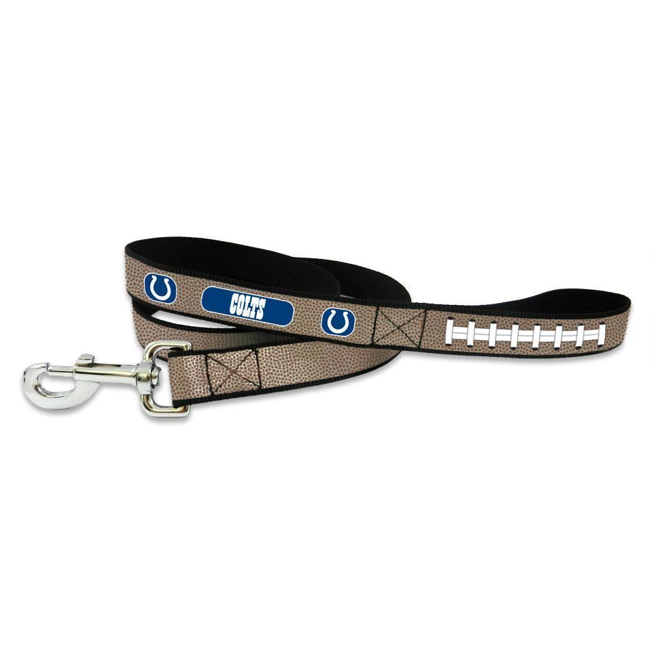 b82185415 Indianapolis Colts Reflective Football Lace Dog Leash