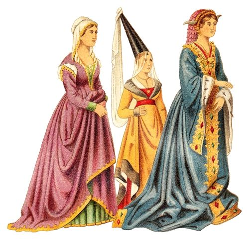 Les cheveux et la mode au Moyen Âge Éducation Costume