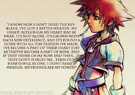 best kingdom hearts quote ever sora has to be the most awesome