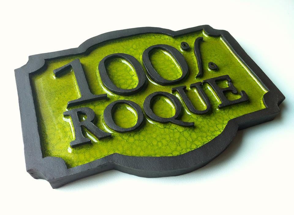 Placa conmemorativa 100 aniversario Roque
