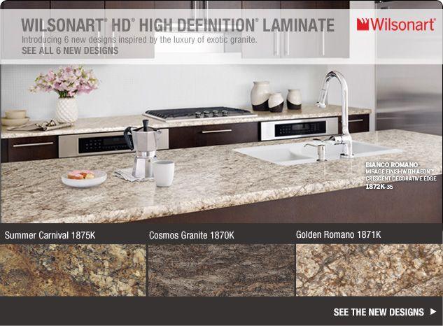 wilsonart hd high definition laminate introducing 6 new designs rh pinterest com