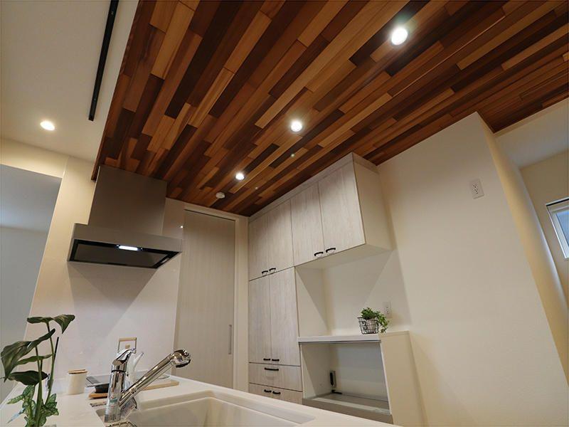 施工事例 キッチン 2020 施工 キッチン 羽目板