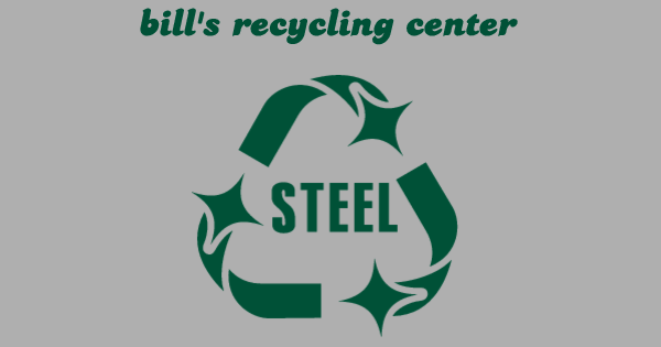 Buy a t-shirt to support bill's recycling center. Please share!