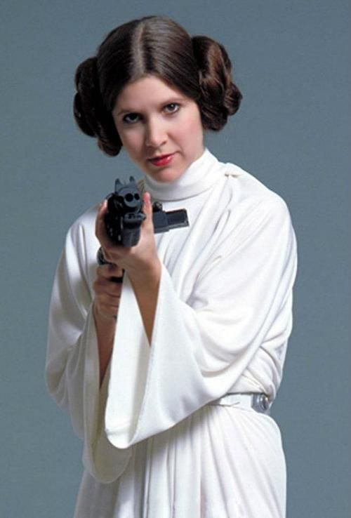 Now do your hair like this, and take a pic. Even in your bathroom | Leia  star wars, Star wars princess, Princess leia