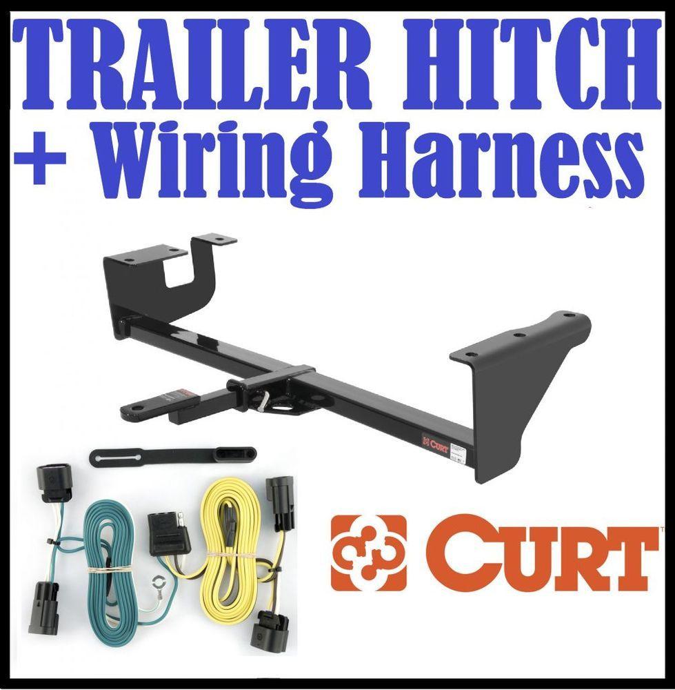 Curt Trailer Hitch Vehicle Wiring Harness Fits 07 09 Mini Cooper 11160 56200 Trailer Hitch Trailer Subaru Wagon