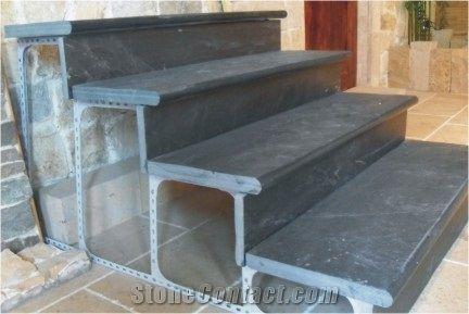 Black Slate Stairs Tiles