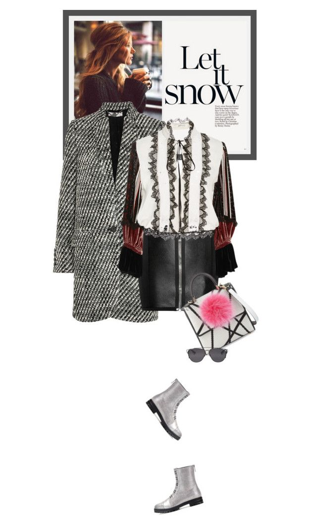 """""""Sundays - 13.12.15"""" by matilda66 ❤ liked on Polyvore featuring STELLA McCARTNEY, Anthony Vaccarello, Rodarte, Jimmy Choo, Les Petits Joueurs and Christian Dior"""