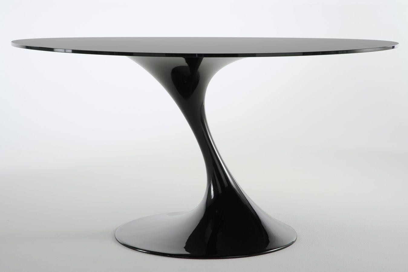 organic design table atatlas black by marcello ziliani casprini rh pinterest com