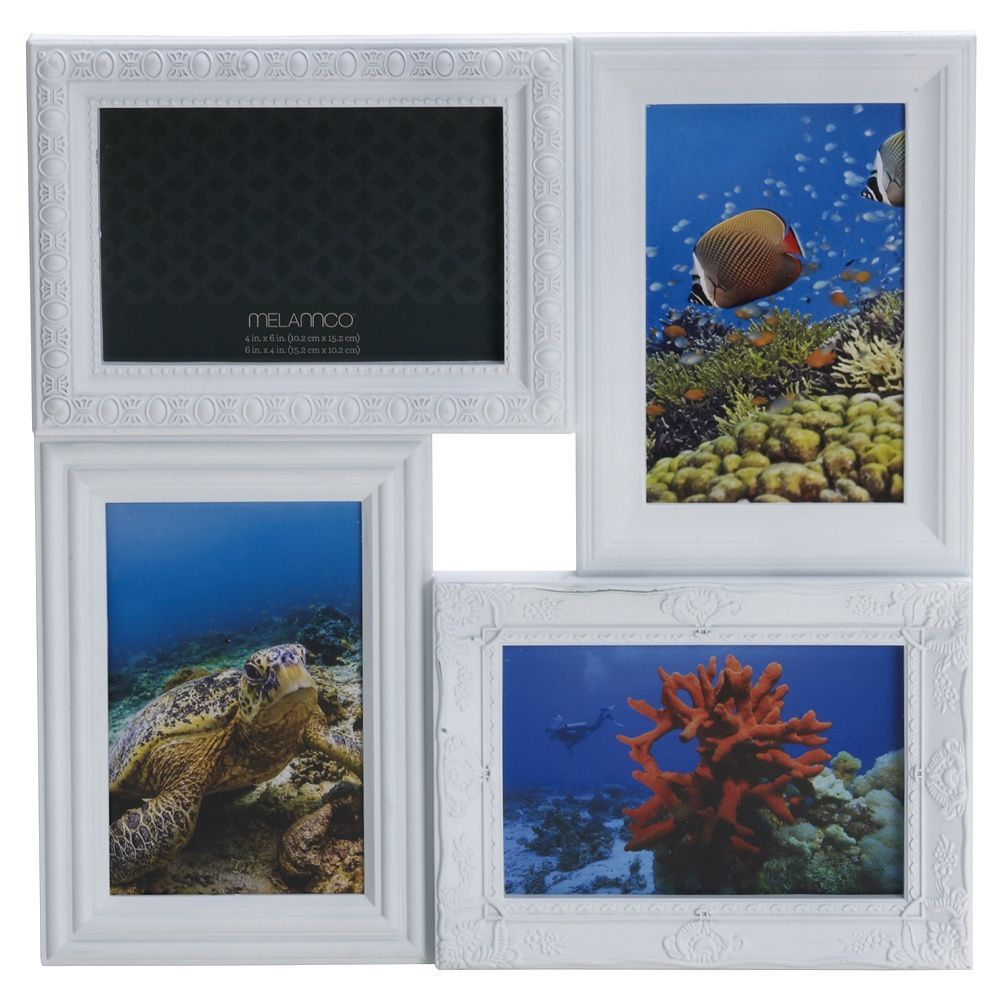 mellannco Melannco 4-opening Multi-profile Collage Frame | Photo ...