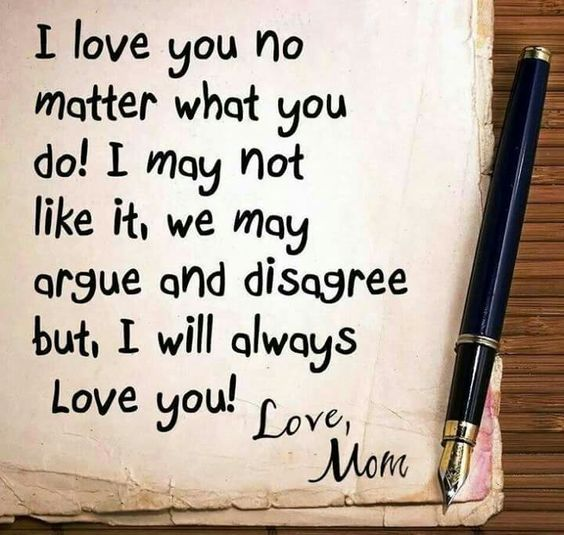 100 Unconditional Love Quotes For Family Friends Happy Birthday Quotes For Daughter Mom Birthday Quotes Mom Quotes