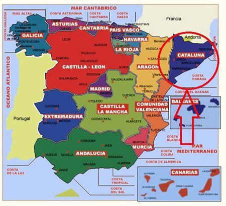 Kataloniya Na Karte Ispanii 11 Tys Izobrazhenij Najdeno V Yandeks
