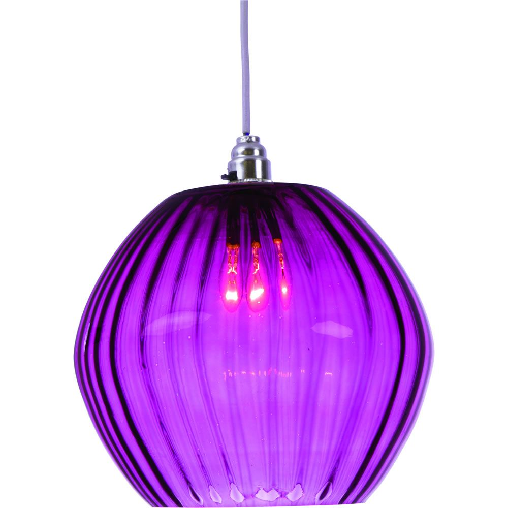 Marni glass pendant plum purple lamps lighting pinterest glass
