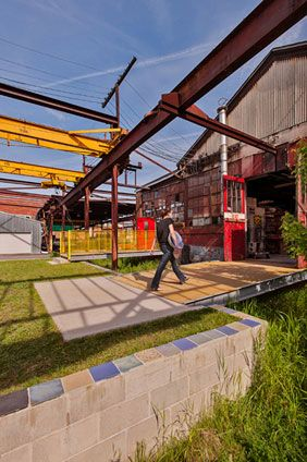 The Steel Yard Industrial Architecture Landscape Architecture