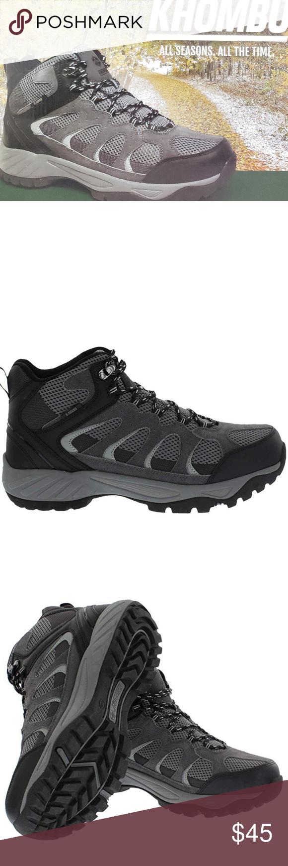 c0f67dd76dc Khombu Tyler Leather Hiking Outdoor Tactical Boots Khombu, an ...