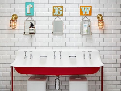 Trough sinks have an industrial feel often associated with schools or art  studios. They'
