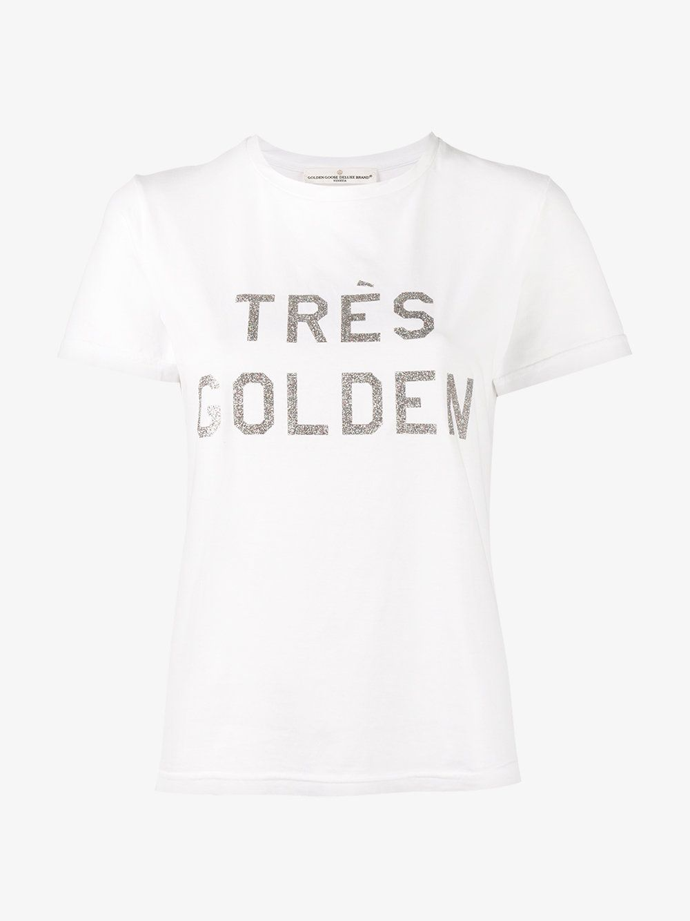 Golden Goose Logo print T-shirt En Ligne Pas Cher Authentique ArXn4