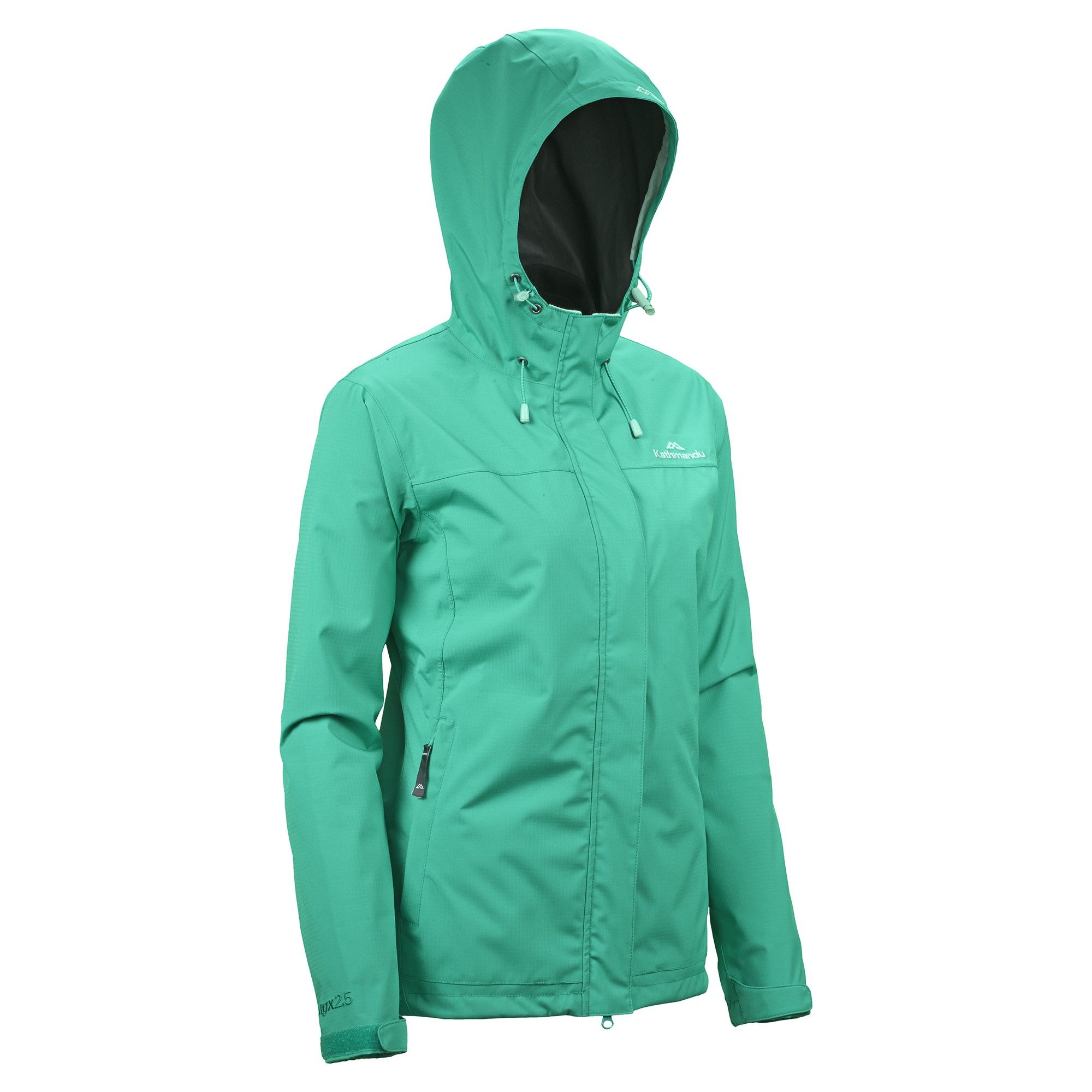 Buy Monrovia Women's 2.5 Layer Waterproof Jacket - Jade Green ...