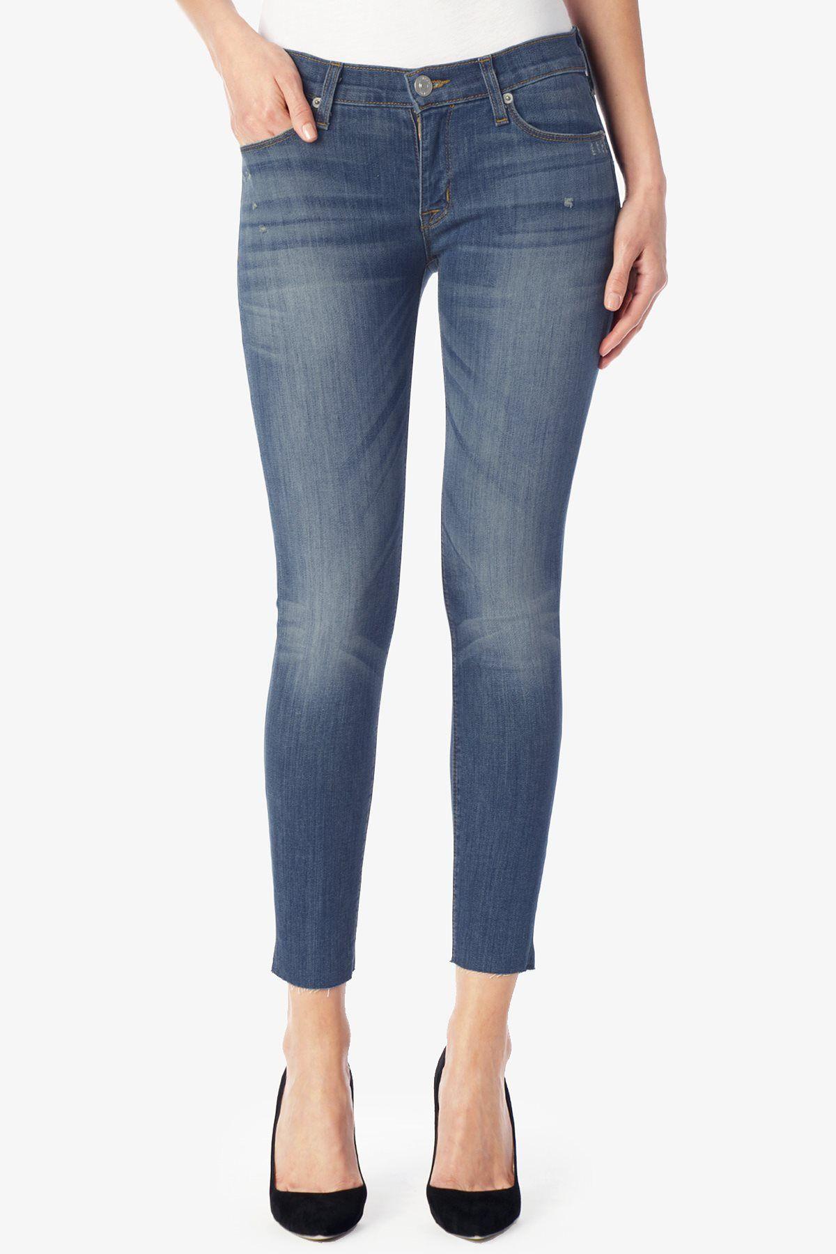 1d26d7716b4 Krista Super Skinny Crop Raw Hem - Talk The Talk | Hudson Jeans ...