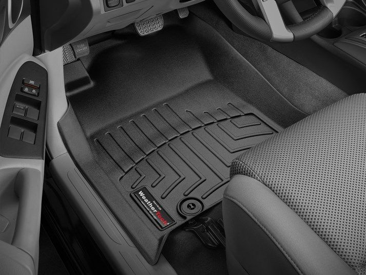 2015 Toyota Tacoma Weathertech Floorliner Car Floor Mats Liner Floor Tray Protects And Lines The Floor Of Tr 2015 Toyota Tacoma Toyota Tacoma Weather Tech