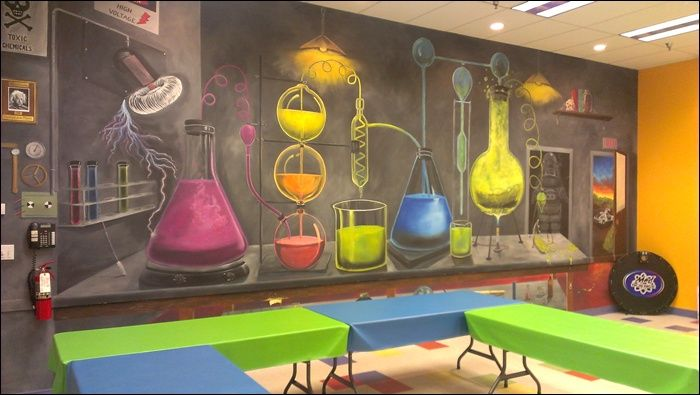 Mad Science Party On Pinterest Mad Scientist Party Mad Science Lab Decorations Science Room Science Lab
