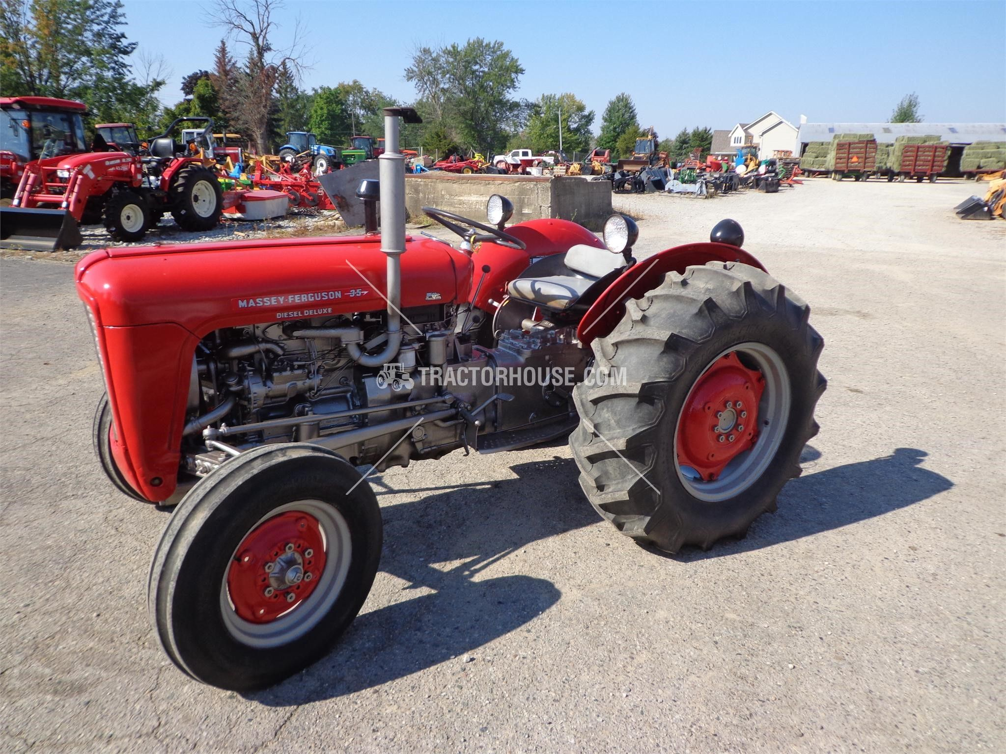 MASSEY-FERGUSON 35 Less than 40 HP For Sale At TractorHouse.com Vintage  Tractors
