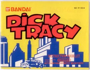 dick tracy nes manual products pinterest rh pinterest com NES Manual Size NES Manual Scans