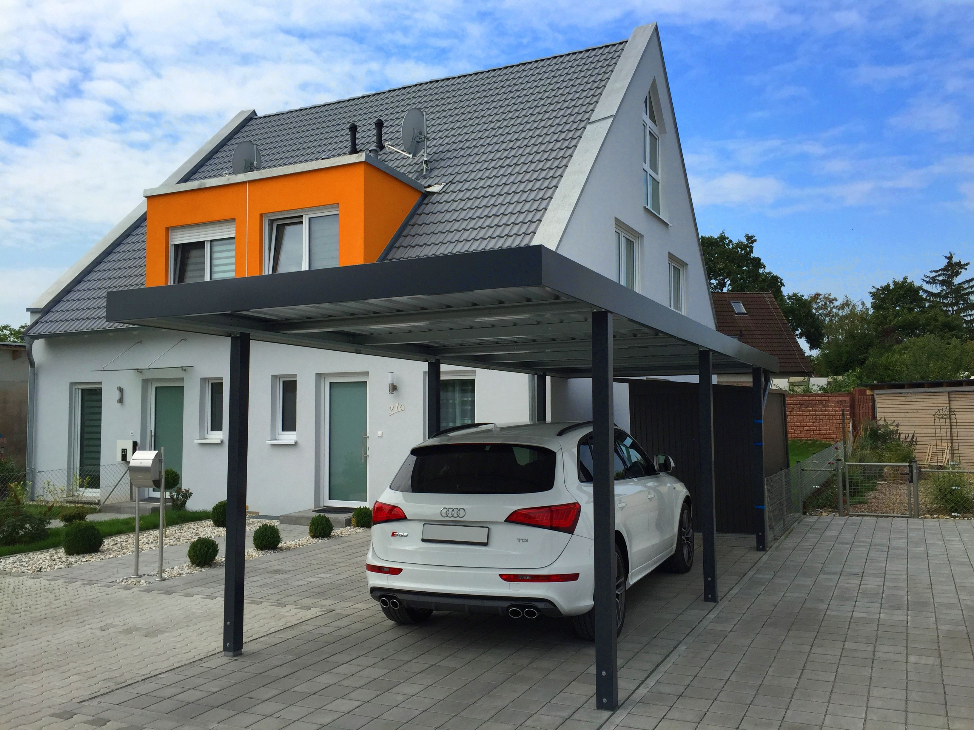 myport einzelcarport aus metall carport carports doppelcarport metallcarport. Black Bedroom Furniture Sets. Home Design Ideas