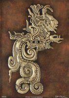 Mayan Divine Serpent