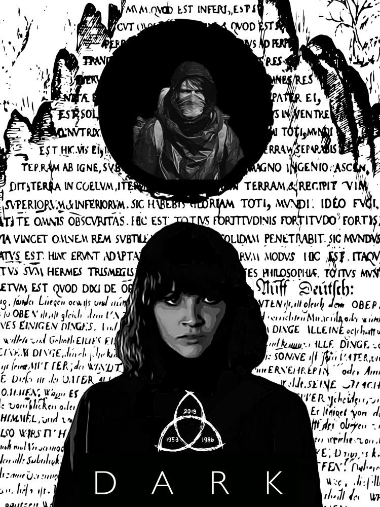 Darker Martha Martha Dark Netflix Darkseries Darknetflix Talenthouse 2020 Newseason Jonas Hanna Poster Mural I Dark Martha Dark Serie Dark Netflix Dark netflix wallpaper jonas and martha